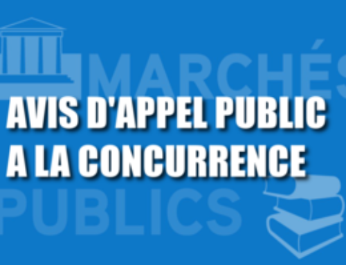 Avis d'appel public à la concurrence (AAPC)
